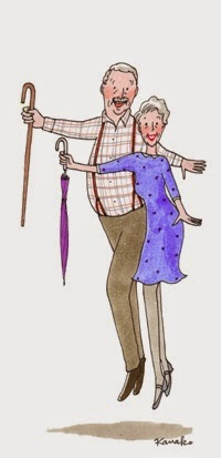 abuelos bailones